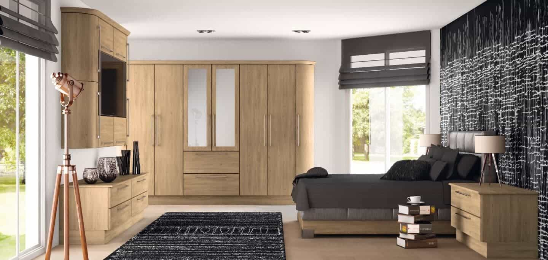 Goscote bedroom odessa oak