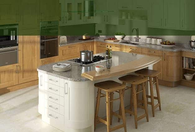 Island and kitchen furniture