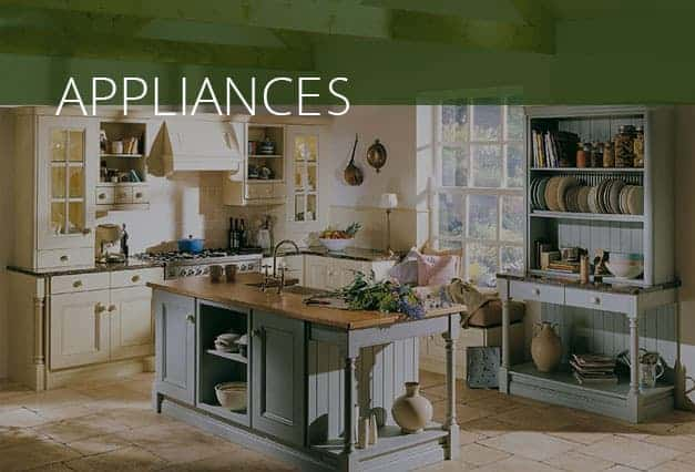 Appliances in a kitchen
