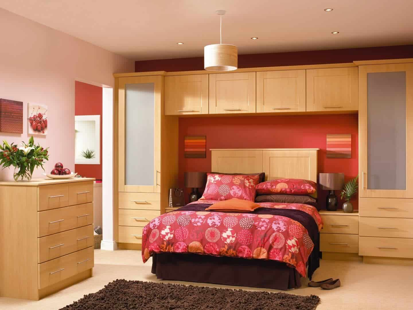 Newly fitted bedroom